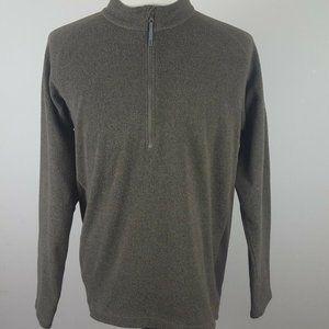 Merrell Men's 1/4 Zip Pullover Sweater Large